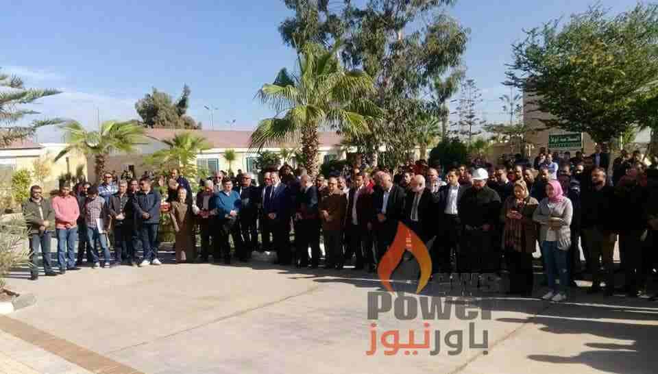 تحت رعاية الدكتور نائل درويش.. بترومنت تحتفل بيوم السلامة والصحة المهنية