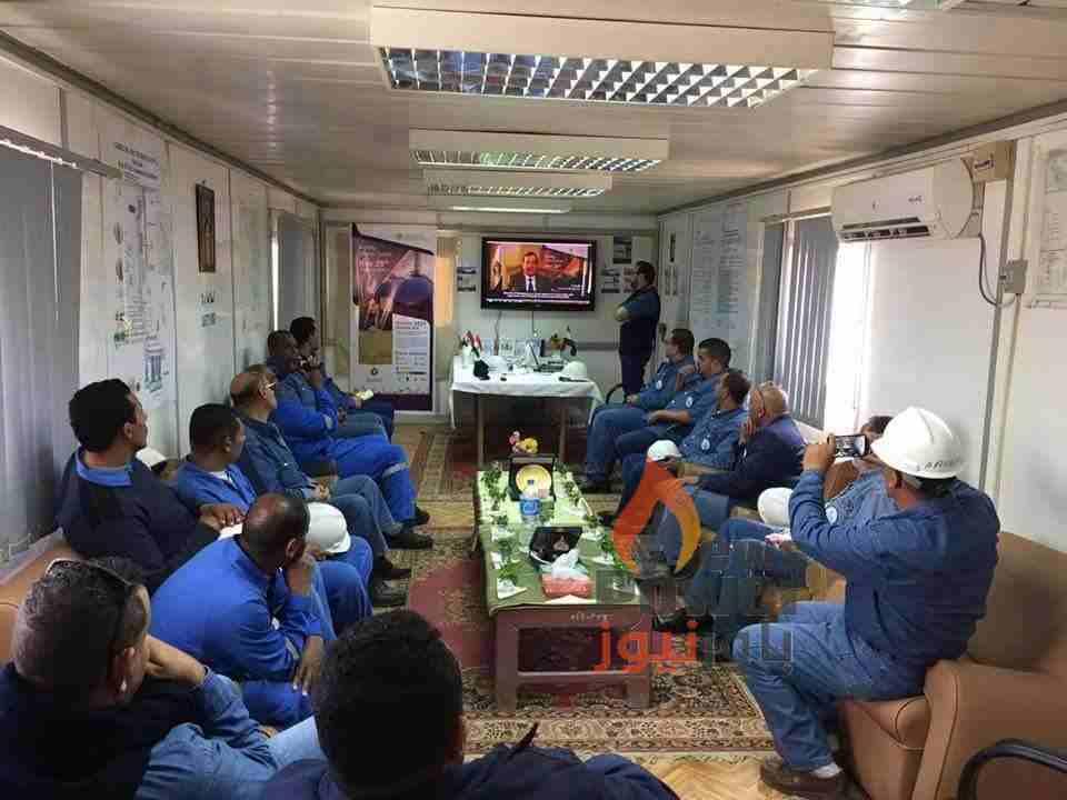 بالصور..العاملون بشركة بتروزيت يحتفلون بيوم السلامة والصحة المهنية