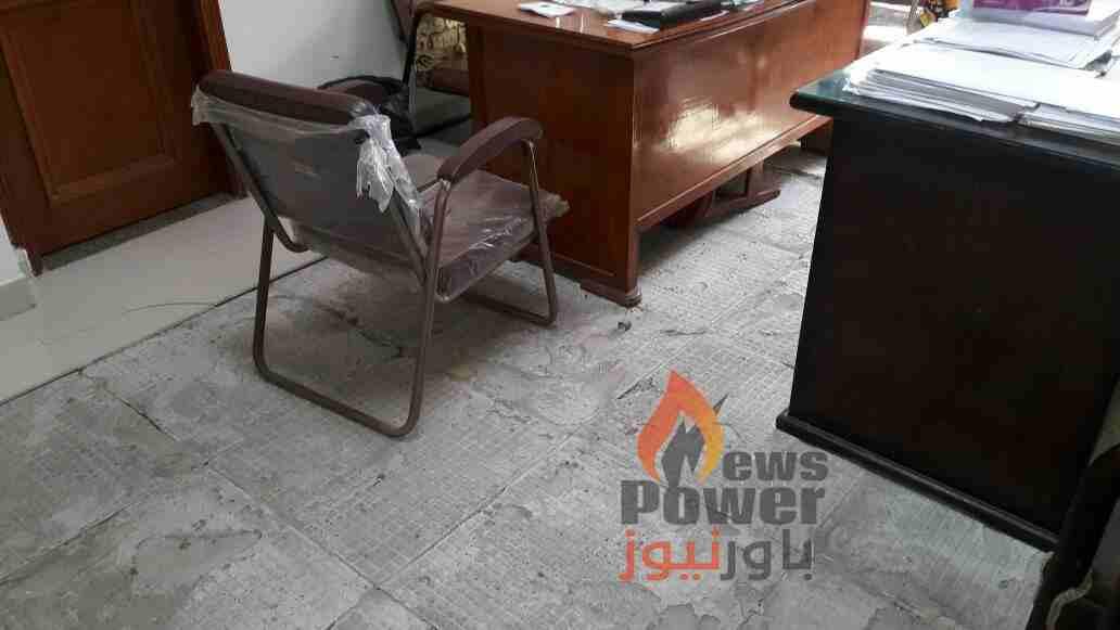 صور أرضيات مكاتب منطقة كهرباء الدلتا مهداة الى المهندس جمال عبد الرحيم!