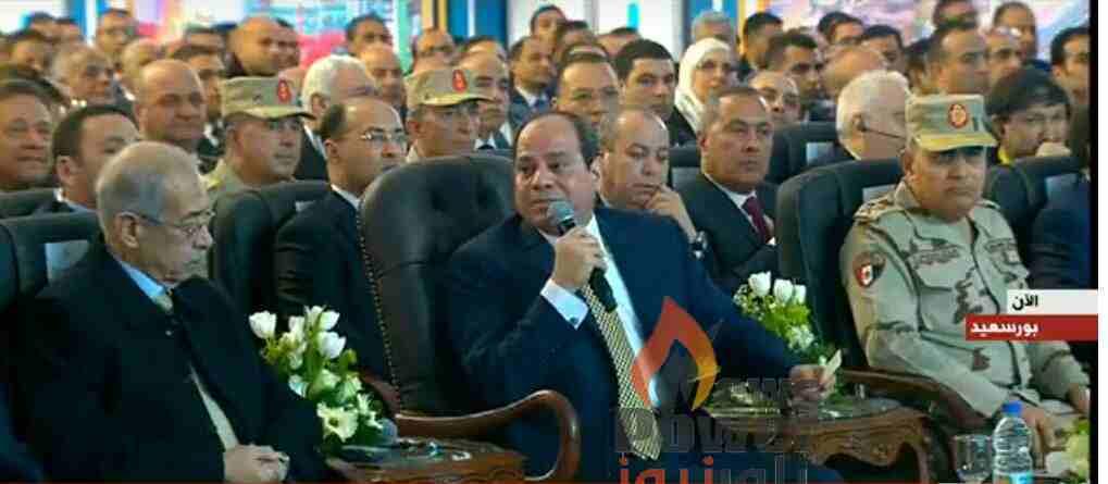 السيسى أمن مصر واستقراره ثمنه حياتى وحياة الجيش