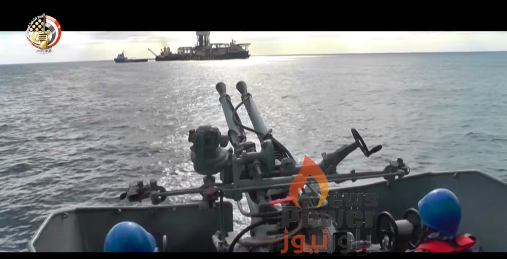 بالفيديو .. حقل غاز ظهر فى حماية قواتنا البحرية البطلة