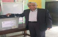 المهندس محمد المصرى خبير قطاع البترول يدلى بصوته فى الانتخابات الرئاسية