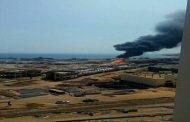 البترول : السيطرة على حريق خط انابيب البوتاجاز