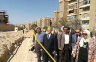 عفيفي يتابع تنفيذ مشروعات الخطة الطموحة بزيارة ميدانية لقطاع شبكات المعادى والهرم