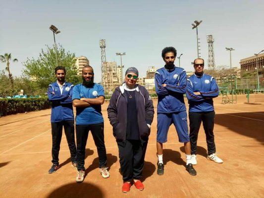 فريق مصر للبترول يتوج بطلا لدوري قطاع البترول للتنس الأرضي