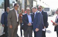 الكيميائى عمرو مصطفى رئيس اموك يشرف بنفسه على حشد العاملين للتصويت فى الانتخابات الرئاسية