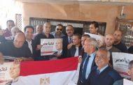 المهندس ياسر بهنس وقيادات تاون جاس يشاركون فى الانتخابات الرئاسية ودعم الرئيس السيسى