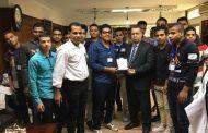 رئيس شركة وسط الدلتا لإنتاج الكهرباء يستقبل طلاب المدارس الفنية لعمل زيارة ميدانية لمحطة توليد كهرباء طلخا