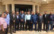 بالصور..المهندس عابد عز الرجال برفقة حشود غفيرة في مدينة غارب لمتابعة سير العملية الانتخابية