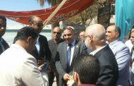 الدكتور نائل درويش وقيادات بترومنت يتابعون سير العمل بالعملية الانتخابية