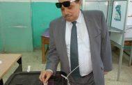 رئيس شركة مصر للبترول يُدلي بصوته في انتخابات الرئاسة