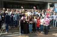 صور .. رئيس إيلاب هشام نور الدين وجميع العاملين بالشركة اثناء التوجه الى صناديق الانتخابات