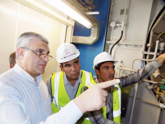 GE تنتهى من تحديث وتشغيل الوحدة الثالثة من محطة الكريمات المركبة بتكلفة 45 مليون دولار