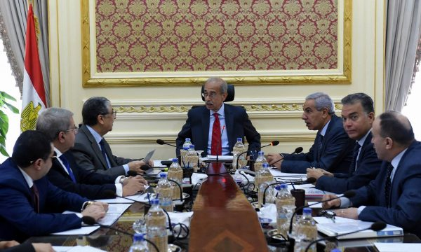 اللجنة الاقتصادية الوزارية برئاسة شريف اسماعيل تناقش مع شاكر نتائج مناقصة مشروع فحم الحمراوين