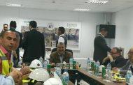 شاكر وقيادات وزارة الكهرباء يتفقدون محطة توليد بنى سويف للوقوف على المرحلة الاخيرة من مراحل التنفيذ