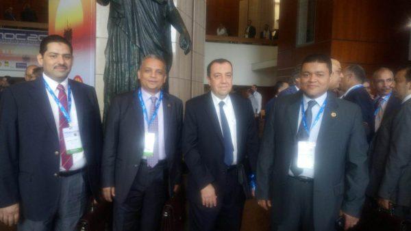 رئيس شركة غاز القاهرة على هامش مؤتمر