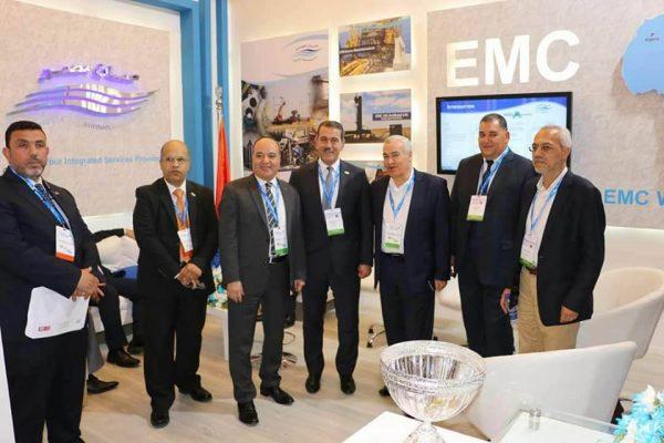 بالصور..المهندس السيد البدوي وقيادات شركة خدمات البترول البحرية يشاركون في مؤتمر ومعرض دول حوض البحر المتوسط