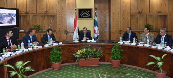 وزارة البترول تعقد ورشة عمل لمشروع تحديث وتطوير قطاع التعدين