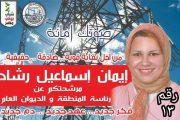 ننشر السيرة الذاتية لـ ايمان اسماعيل رشاد المرشحة لعضوية اللجنة النقابية لرئاسة منطقة الاسكندرية والديوان العام