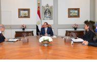 وزيرة الاستثمار تستعرض امام الرئيس السيسى تطورات التمويل لمحطة الطاقة الشمسية ببنبان بقيمة 1,5 مليار دولار