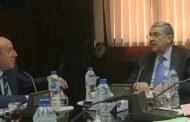 وزير الكهرباء يتابع خطط التطوير فى شركة القناة لتوزيع الكهرباء
