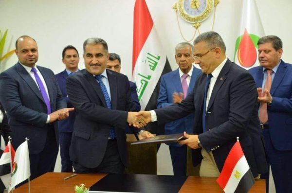 بتروجت توقع مع المعدات الهندسية العراقية عقدا لتنفيذ مشروعات نفطية ببغداد