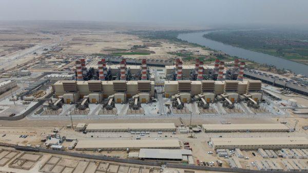 محطة كهرباء بني سويف العملاقة تضيئ سماء الصعيد بعد دخول جميع وحداتها الخدمة الثلاثاء الماضي