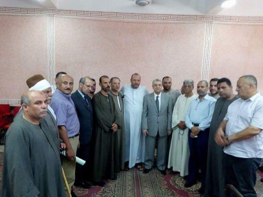 وزير الكهرباء يقدم واجب العزاء في شهيد محطة التبين