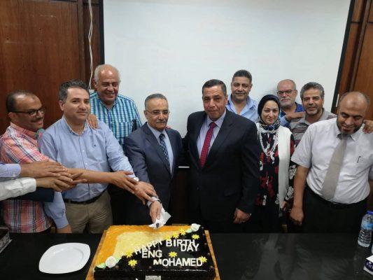 بالصور .. إنربك تُقيم احتفالية كبرى لتكريم المهندس محمد نبيل لبلوغه السن القانونية