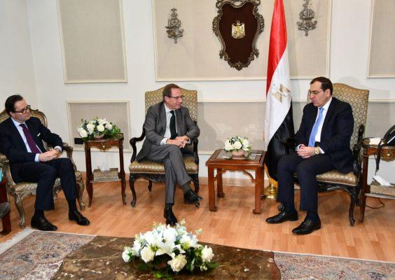 الملا :  زيادة ملحوظة  للاستثمارات البترولية الفرنسية  بمصر  من قبل  شركات ENGIE و EDF  وتوتال ابرزها تطوير حقل ابو قير البحرى