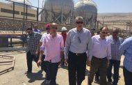 رئيس بوتاجاسكو يتفقد اعمال الاحلال والتجديد بمصنع تعبئة البوتاجاز  بسوهاج
