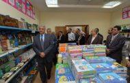 بالصور .. في اول ظهور له .. رئيس شركة جنوب القابضة للبترول يفتتح معرض الكتاب والمستلزمات المدرسية بفرع الشركة بالقاهرة
