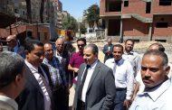 رئيس شركة مصر العليا لتوزيع الكهرباء يتفقد مبني التحكم الجديد بسوهاج