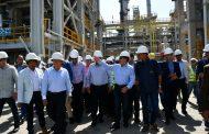 تأكيدا لانفراد باور نيوز .. وزير البترول يتفقد اعمال التشغيل التجريبى لمشروع إنتاج البنزين عالى الأوكتين 92 ، 95 بشركة انربك