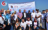 بالصور .. مستشفى البترول تشارك فى اليوم العالمي للقلب على شاطئ الإسكندرية