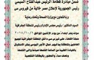 غدا .. حملة للقضاء على فيرس سى بالقاهرة لتكرير البترول والمنطقة البترولية الجغرافية