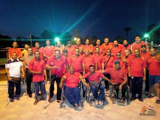 فريق ذوى الاحتياجات الخاصة بشركة جنوب القاهرة للتوزيع يحصل على المركز الثاني في بطولة الشركات
