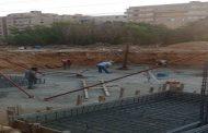 بالصور ..بدء العمل بصيانة خطوط الجهد العالي بحدائق الأهرام