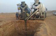 صور خاصة : L&T تُنهى 75 % من عمليات حفر خط ربط مصر - السودان وبدء وصول حديد الابراج