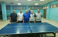 فريق جنوب الوادي لتنس الطاولة يلتقي نظيره غاز مصر ضمن الدورة الرياضية لنقابة العاملين بالبترول