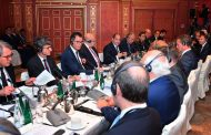 الرئيس السيسي خلال لقائه رؤساء كبرى الشركات الألمانية : نسعي لتدشين شراكة اقتصادية واستثمارية قوية مع مجتمع الأعمال الألماني