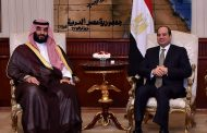 الرئيس عبد الفتاح السيسى يستقبل ولى العهد السعودى بمطار القاهرة