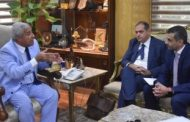 محافظ أسوان يلتقى مجموعة البنك الدولى بالقاهرة الممولة لمشروع الطاقة الشمسية