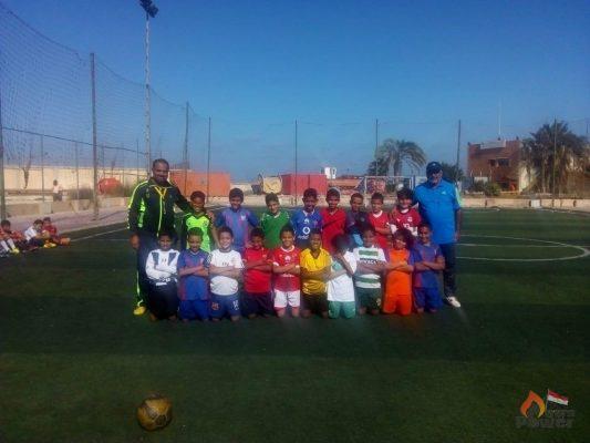 نادي الاسكندرية للبترول يجري اختبارات للناشئين لاختيار فريق المواهب لكرة القدم