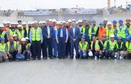 الرئيس السيسى يتفقد تطورات الاعمال بمشروع انفاق قناة السويس شمال الاسماعيلية والتي تنفذه شركة بتروجت