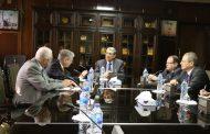 شاكر يبحث مع السفير الالماني سبل دعم وتعزيز التعاون في قطاع الكهرباء