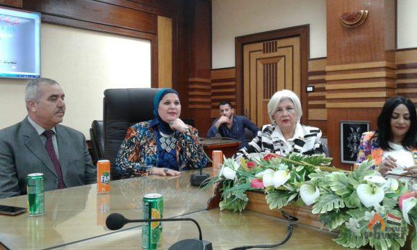 ندوة بشركة العامرية للبترول عن التحديات التي تواجه المرأة في قطاع البترول