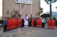 حملات توعوية بشركة بتروسيف احتفالاً بأسبوع السلامة والصحة المهنية