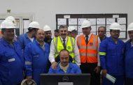 الدكتور ايهاب زهرة يشارك العاملين احتفالاتهم بفعاليات اليوم الثالث للسلامة والصحة المهنية بمعمل تكرير طنطا