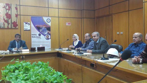 بالصور .. فعاليات اسبوع السلامة والصحة المهنية بشركة البتروكيماويات المصرية